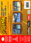 N64 - Spider-Man (back)