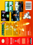 N64 - Starfox 64 (back)