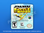 N64 - Star Wars: Battle for Naboo Label