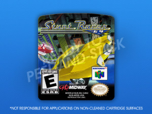 N64 - Stunt Racer 64 Label