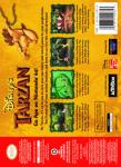 N64 - Tarzan, Disney's (back)
