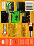 N64 - Tom Clancy's Rainbow Six (back)