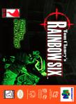 N64 - Tom Clancy's Rainbow Six (front)