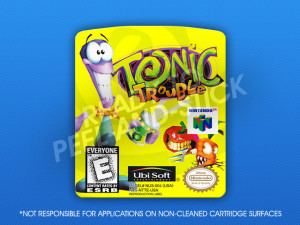 N64 - Tonic Trouble Label