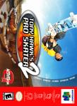 N64 - Tony Hawk's Pro Skater 2 (front)