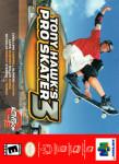 N64 - Tony Hawk's Pro Skater 3 (front)