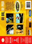 N64 - Tony Hawk's Pro Skater (back)
