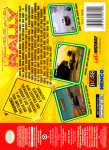 N64 - Top Gear Rally (back)