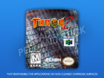 N64 - Turok 2: Seeds of Evil Label