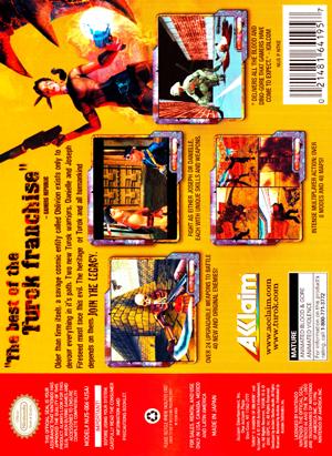 N64 - Turok 3: Shadow of Oblivion (back)