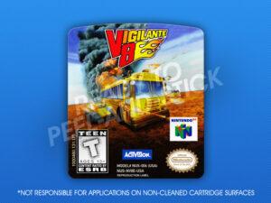 N64 - Vigilante 8 Label