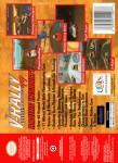 N64 - V-Rally Edition 99 (back)
