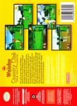 N64 - Waialae Country Club: True Golf Classics (back)
