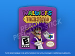N64 - Waluigi's Taco Stand Label