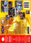 N64 - WCW vs NWO: World Tour (back)
