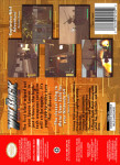 N64 - WinBack: Covert Operations (back)