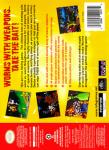 N64 - Worms: Armageddon (back)