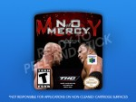 N64 - WWF: No Mercy Label