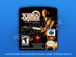 N64 - Xena: Warrior Princess: The Talisman of Fate Label