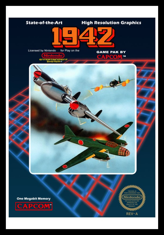 NES - 1942 Poster