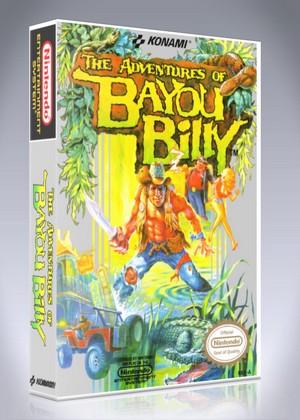 Nes Adventures Of Bayou Billy Custom Game Case Retro