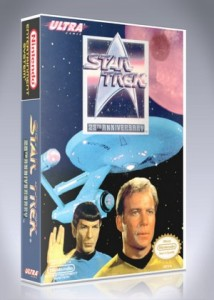 NES - Star Trek 25th Anniversary