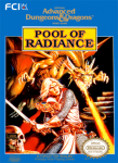 NES - Advanced Dungeons & Dragons: Pool of Radiance (front)