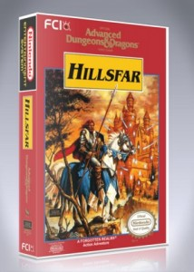 NES - Advanced Dungeons & Dragons: Hillsfar