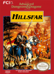 NES - Advanced Dungeons & Dragons: Hillsfar (front)