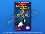 NES - Adventures of Bass II Label