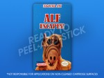 NES - Alf Escapes! Label