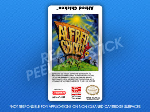 NES - Alfred Chicken Label