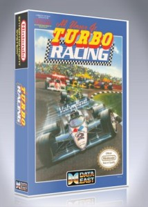 NES - Al Unser Jr. Turbo Racing
