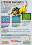 NES - Archon (back)