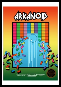 NES - Arkanoid Poster