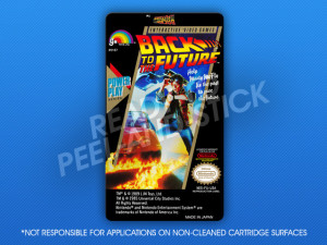 NES - Back to the Future Label