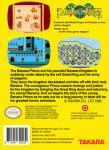 NES - Banana Prince (back)
