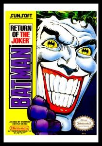 NES - Batman: Return of the Joker Poster