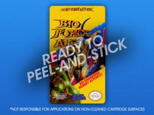 NES - Bio Force Ape Label