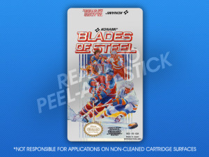 NES - Blades of Steel Label