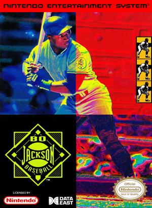 NES - Bo Jackson Baseball (front)