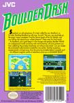 NES - Boulder Dash (back)