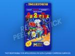 NES - BurgerTime Label