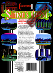 NES - Castlevania II: Simon's Quest REDACTED (back)