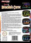 NES - Castlevania III: Dracula's Curse PAL-B (back)