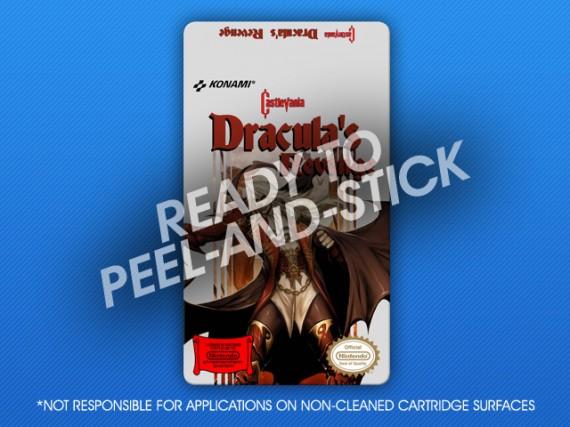 NES - Castlevania: Dracula's Revenge Label