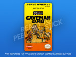 NES -  Caveman Games Label