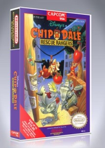NES - Chip 'n Dale Rescue Rangers