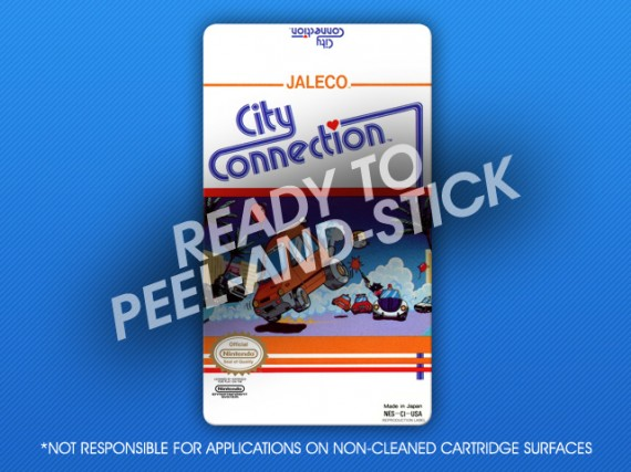 NES - City Connection Label