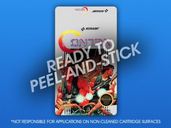 NES - Contra Label